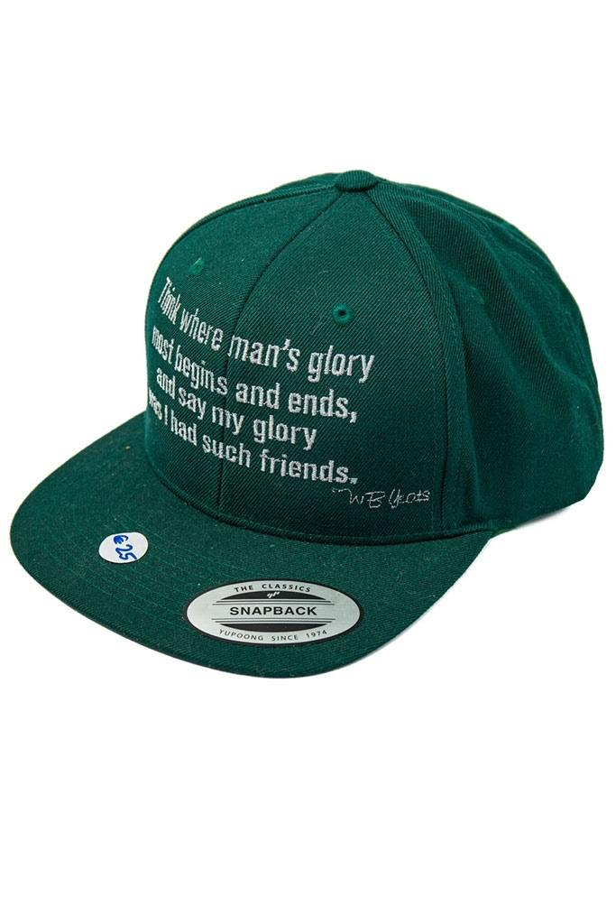 WB Yeats Quote Hat