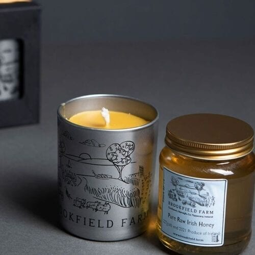 Honey Scented Beeswax Candle Gift Set