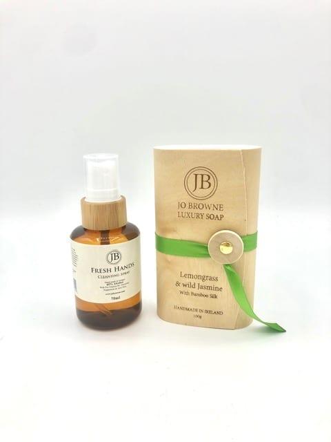 Jo Browne Luxury Soap & Fresh Hands Cleansing Spray