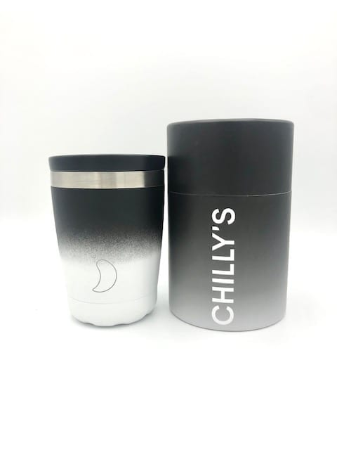 Black Gradient Chilly's Cup