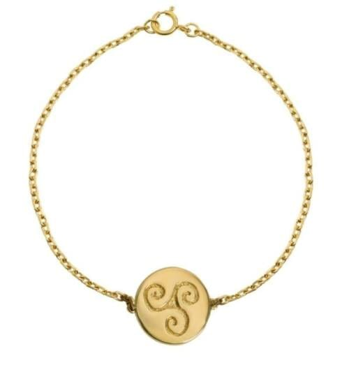Gold Celtic Bracelet