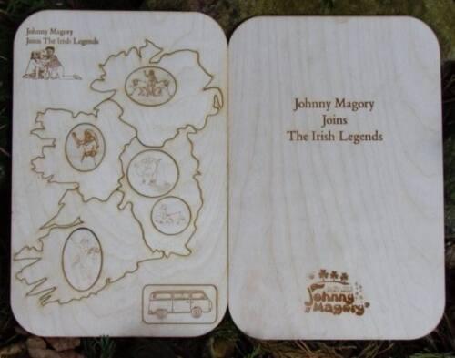 Irish Legends Wooden Puzzle & Book
