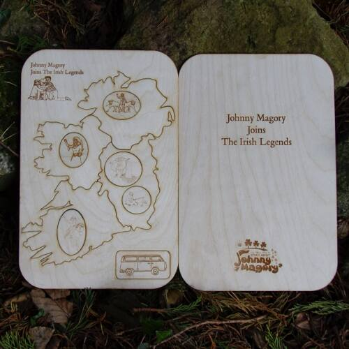 Johnny Magory Wooden Puzzle & Book - Irish Legends by Emma-Jane Leeson