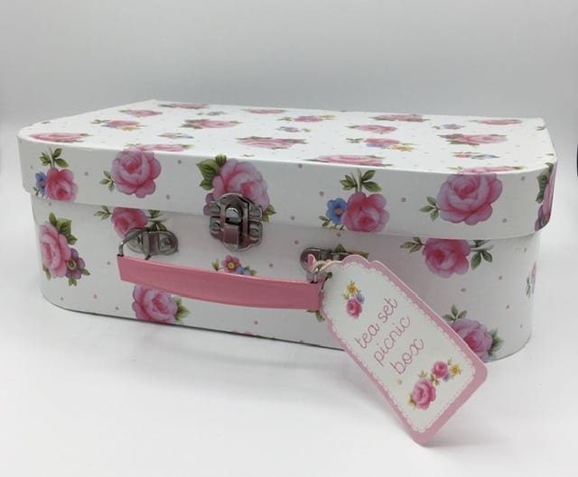 Tea Set Picnic Box by Sass & Belle