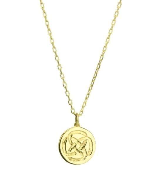 Strength Necklace Gold