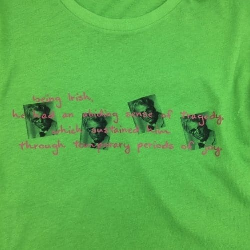 Wb Yeats Poetry Quote T-shirt
