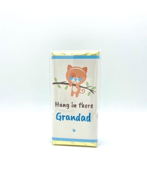 Hang in there Grandad Chocolate Bar