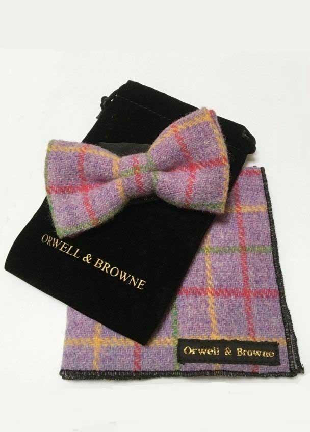 Orwell & Browne Donegal Tweed