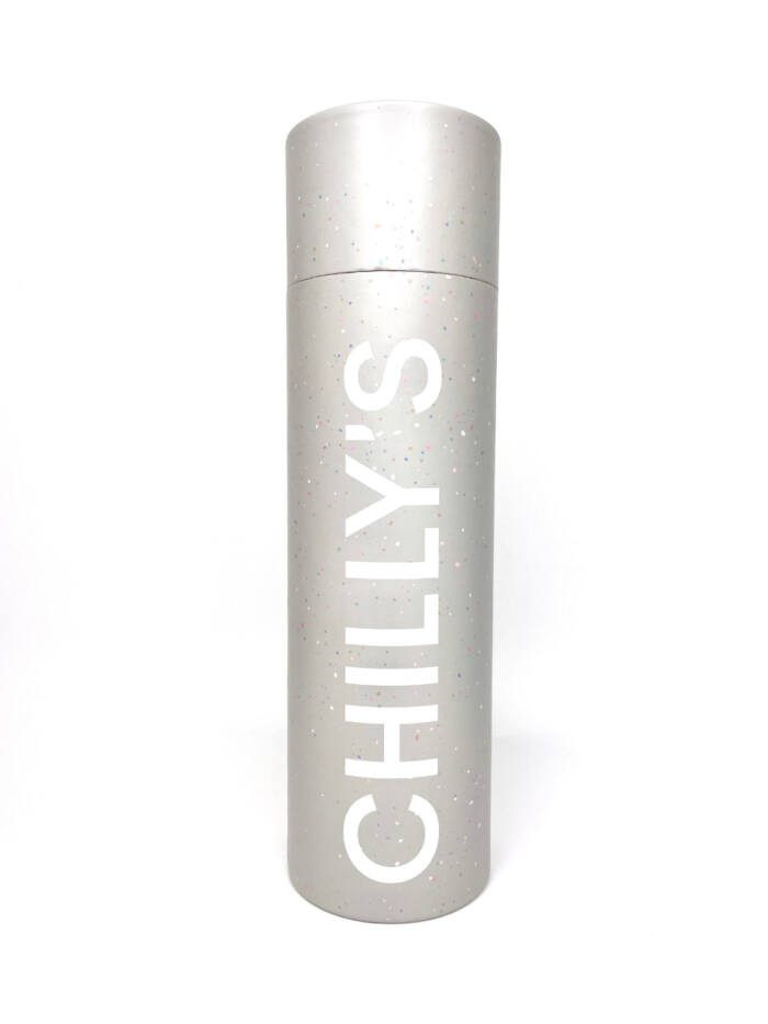 Chilly's Bottle 500ml Speckled Grey Box