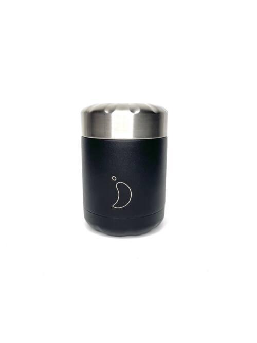 Chilly's Food Pot 300ml Monochrome Black