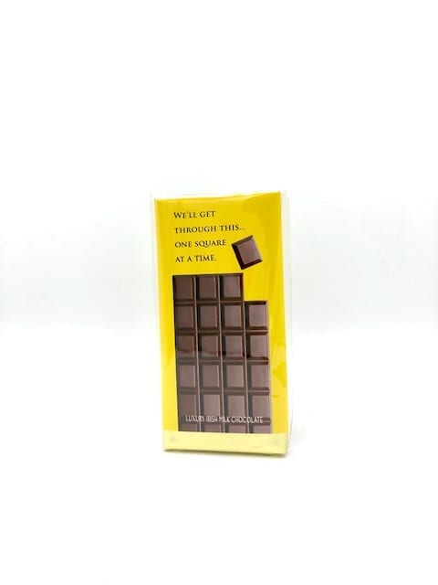 We'll get through this Chocolate Bar