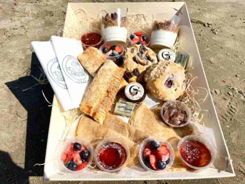 Brunch Box from Above