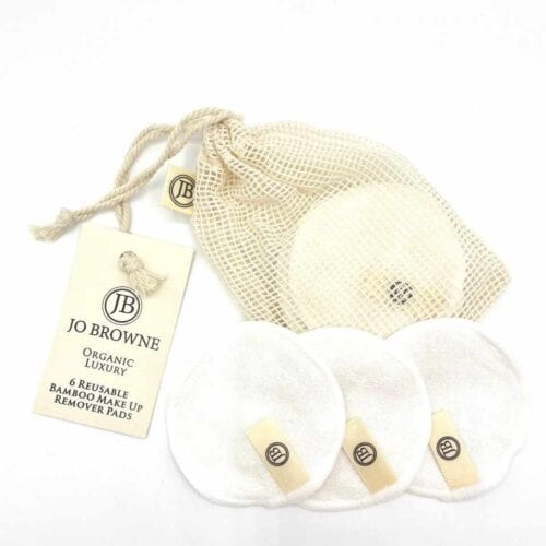 Jo Browne 6 Reusable Bamboo Make Up Remover Pads