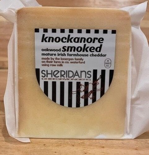 Sheridans Knockanore Oakwood Smoked Mature Irish Farmhouse Cheddar