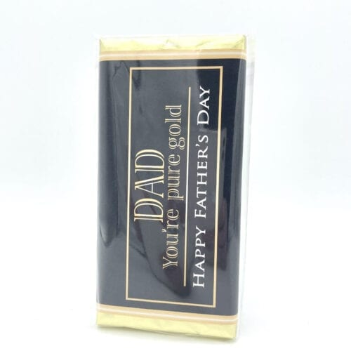 Father's Day Chocolate Bar