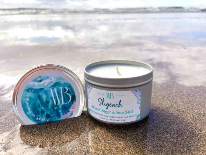 Sligeach Candle 'Abounding in Shells'
