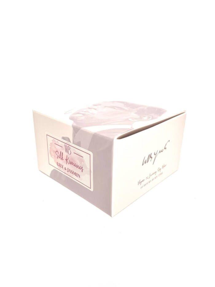 WB's Silk Kimonos Candle Box