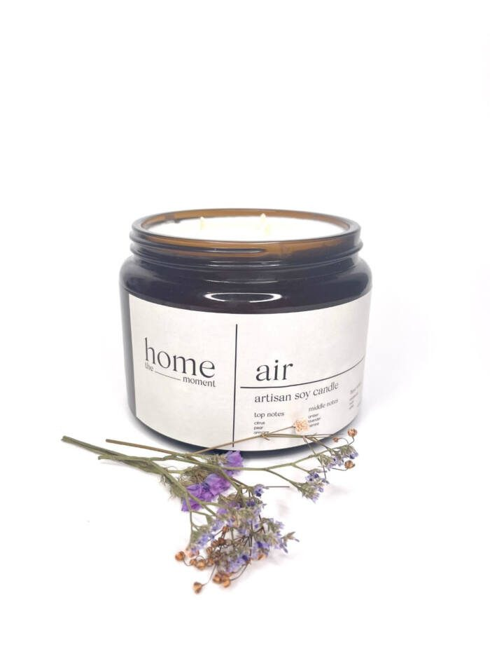 The Home Moment Artisan Soy Candle - Air Fragrance