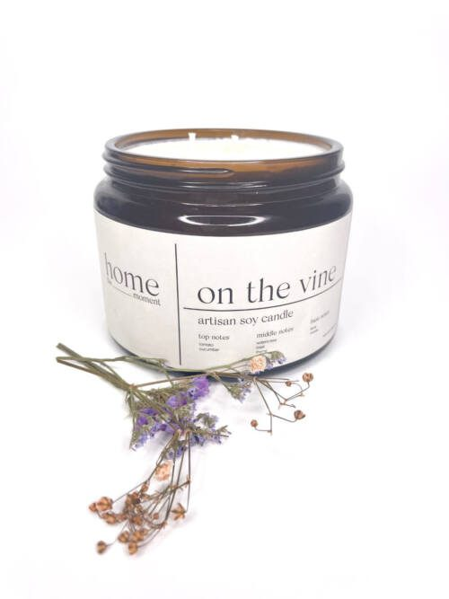 The Home Moment Artisan Soy Candle - On The Vine Fragrance