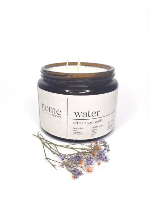 The Home Moment Artisan Soy Candle - Water Fragrance